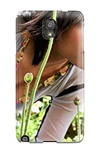 Snap-on Rosario With Flowers Actress People Women Case Cover Skin Compatible With Galaxy Note 3