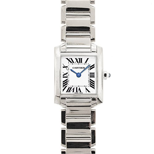 Cartier Small Tank Francaise automatic-self-wind womens Watch W50012S3GAO (Certified Pre-owned)