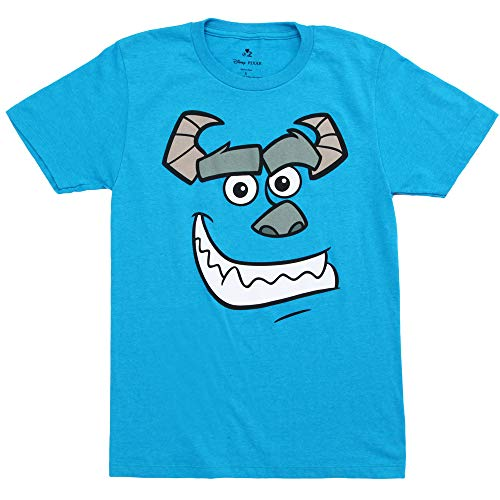 Monsters Inc. Sully Costume Adult T-Shirt - Blue (X-Large)