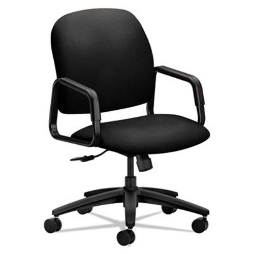 HON Solutions Seating 4000 Series Exec High-Back Chair, Black - Seating Hon Solutions