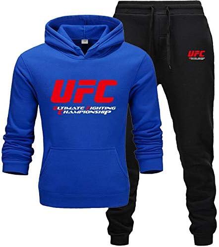 Nxddggacs Chándal UFC Moda Hombre/Mujer Ropa Deportiva Conjuntos de Dos Piezas Todos los Pantalones de algodón con Capucha Gruesa Sudadera con Capucha Traje Deportivo Hombre: Amazon.es: Ropa y accesorios