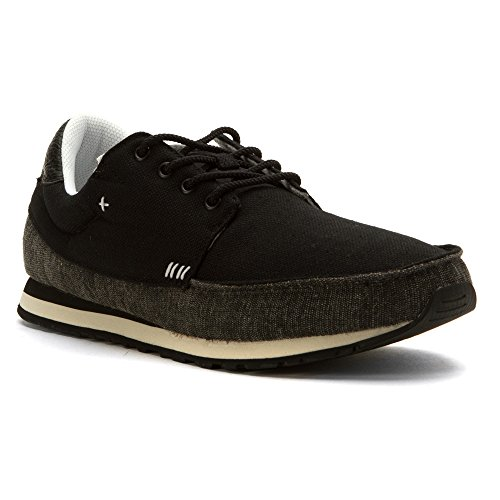 Sanuk Beer Runner Sneaker Para Hombre Negro