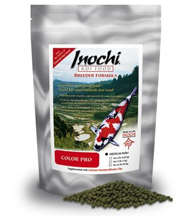 Picture of Inochi Koi Food - Color Pro (Medium Pellet 4 lbs)