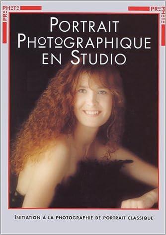 Portrait photographique studio.