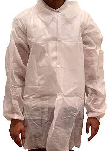 Disposable Lab Coats, Child/Youth/Kids, 12 Pack (Youth Medium) (Youth Lab Coat)