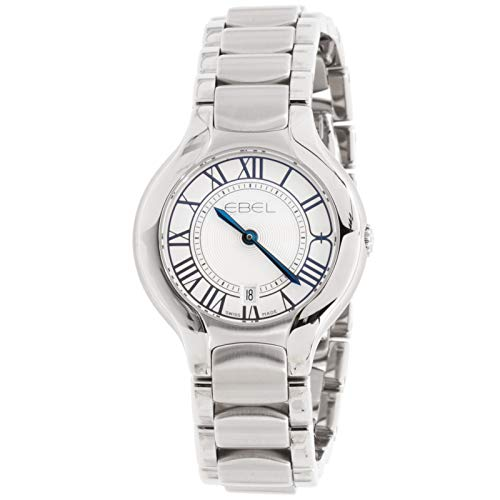 Ebel Beluga Quartz (Battery) Silver Dial Womens Watch 1216037 (Certified Pre-Owned)