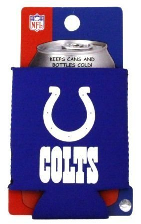 INDIANAPOLIS COLTS NFL CAN KADDY KOOZIE COOZIE COOLER