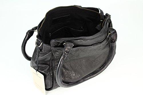 Sac 31cm cuir Noir épaule Rise à main FREDsBRUDER porté x5fP4Ww
