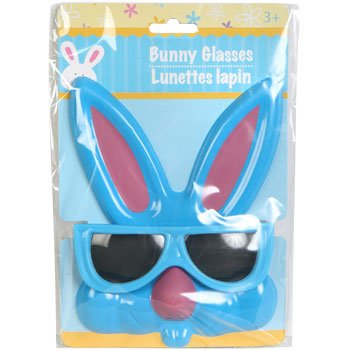 Kid's Plastic Easter Bunny Sunglasses, - Sunglasses Easter Bunny