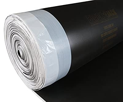 Roberts 70-026-XL 600 sq.ft. Black Jack Premium 2-in-1 Underlayment for Laminate and Engineered Wood Floors