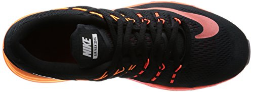 Nike Air Max 2016, Scarpe da Corsa Uomo Black (Black (Schwarz / Multi-color-noble-netzwerk))