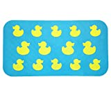 Aprice Non Slip Bathtub Mat Baby Toddler Shower Bath Tub Mat Kids Yellow Duck