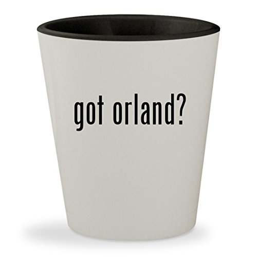got orland? - White Outer & Black Inner Ceramic 1.5oz Shot - Il Orland Park Stores In