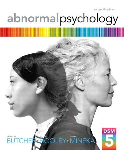 Abnormal Psychology (16th Edition)