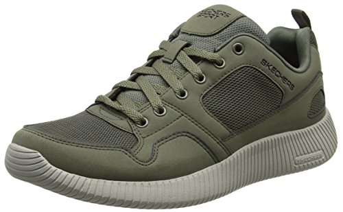 Sneaker Verde olive Uomo Skechers 52399 aq65Z5Bw
