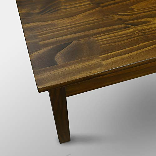 Casual Home 615-25 Kennedy Coffee Table  with Concealed Drawer, Concealment Furniture, Warm Brown by Casual Home (Image #6)