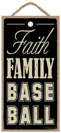 SJT ENTERPRISES, INC. Faith Family Baseball 5