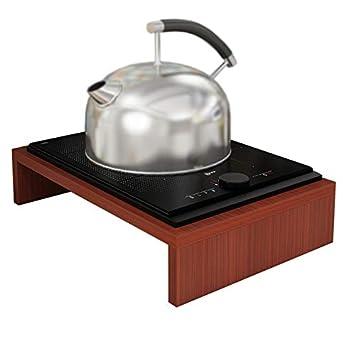 Soporte de Cocina de inducción/Tapa de Cocina de Estufa a Gas Natural/Utensilios de Cocina, Color: B: Amazon.es: Hogar
