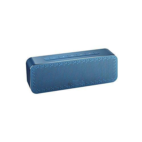 Metal Portable 30W Bluetooth Speakers with Super Bass Wireless Speaker Bluetooth4.2 3D Digital Boombox,Ukraine,Blue