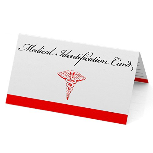 Medical ID Emergency Wallet Card (Medical Id Wallet Card)