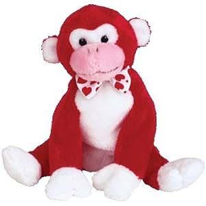 Ty Beanie Babies Valentine - Monkey