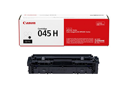 Canon Lasers Cartridge 045 Black, High Capacity Canon Original 045 Toner Black