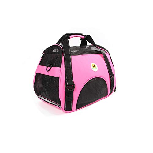 Pet Carrier for Small Dogs, Cats, Puppies, Kittens, Pets, Pet Sling Carrier Up to 13.2 Lbs (Pink)