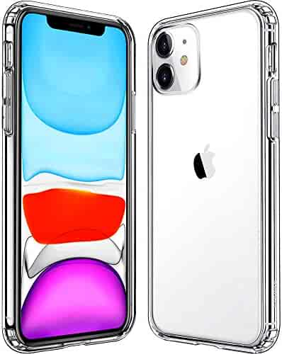 Mkeke Compatible with iPhone 11 Case, Clear iPhone 11 Cases Cover for iPhone 11 6.1 Inch