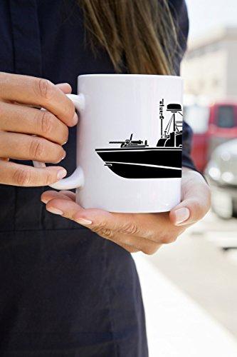 KillerBeeMoto: 11 Oz Vietnam Era PBR River Patrol Boat Coffee (Pbr Ceramic)