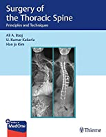 Surgery of the Thoracic Spine: Principles and Techniques Front Cover
