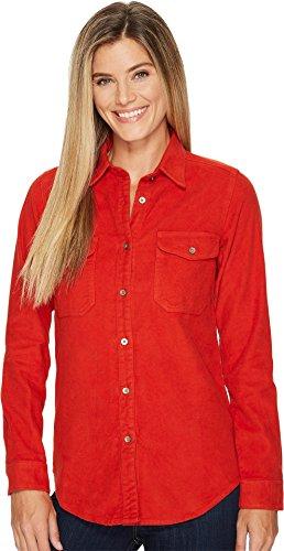 (Filson Women's Moleskin Shirt Burnt Orange X-Small)
