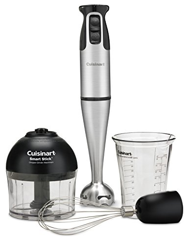 (Cuisinart CSB-79 Smart Stick 2 Speed Hand Blender, Stainless Steel/Black)