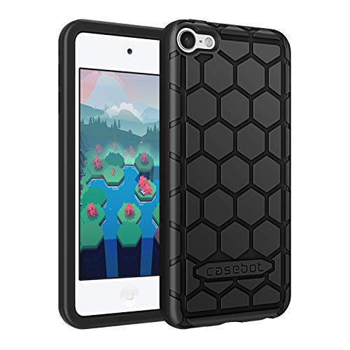 - Fintie Silicone Case for iPod Touch 7 iPod Touch 6 iPod Touch 5 - (Honey Comb Series) Impact Shockproof Anti Slip Soft Protective Cover for iPod Touch 7th 6th 5th (Kids Friendly), Black