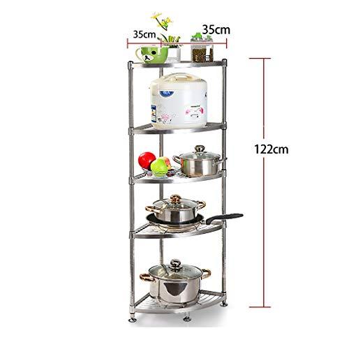 Amazon.com: Estante de cocina de acero inoxidable para ...