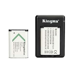 ARBUYSHOP kingma para Sony NP-BX1 Batteryand doble (dual) cargador de bateria NP BX1 / M8 Cyber-shot DSC-HX50V HX300 RX1 RX1R RX100