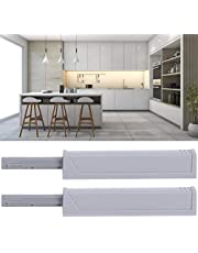 Push Latches, ABS+Magnet Material Door Damper, Wear‑Resistant Furniture Accessory Push Door Catch for Cabinets Home