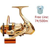 FAIGAFAIVA Spinning Fishing Reels 12 Stainless BB...