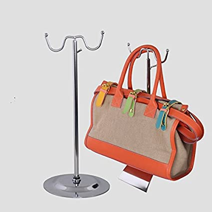 Amazon Com Double Hook Adjustable Metal Women Bags Handbag Display