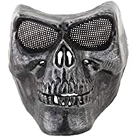 Pindia 1 Pc Black Skull Face Mask Halloween Props Costume Cosplay Horror Party