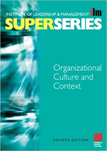Download Organisational Culture and Context Super Series