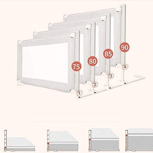 WJSW - Protector Lateral para Cama de bebé, Barra de Seguridad para Cama, diseño de elevación Vertical portátil (Color: Azul, tamaño: 200 cm), Rosa, 150 cm: Amazon.es: Deportes y aire libre