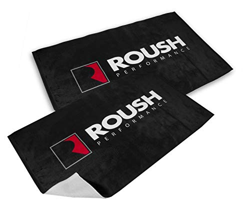 Roush Performance Microfiber Towels Set of 2