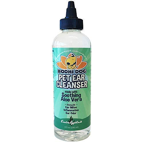 New All Natural Pet Ear Cleaner for Dogs and Cats | Eucalyptus &...