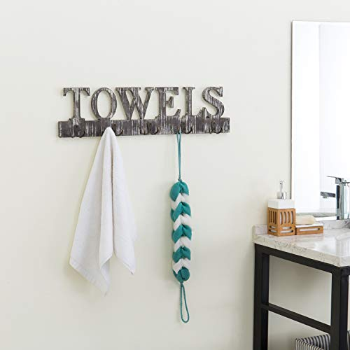 Buy hook towel racks for bathroom