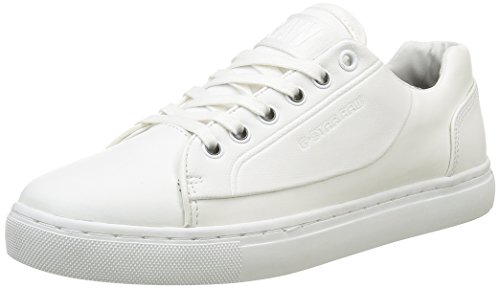 G Star Thec, Zapatillas para Mujer Blanco (bright white 1322)