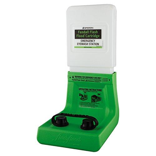 North Eye & Face Protection 32-000400-0000 Flash Flood Emergency Eyewash Station, 1 gal