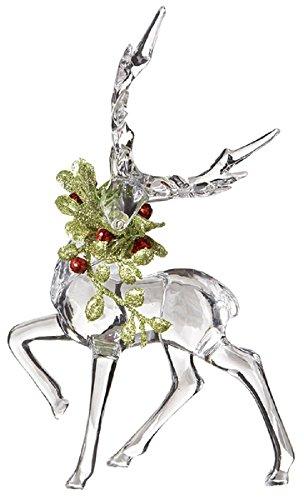 Figurine Mistletoe - Ganz Kissing Krystals Christmas Acrylic 6