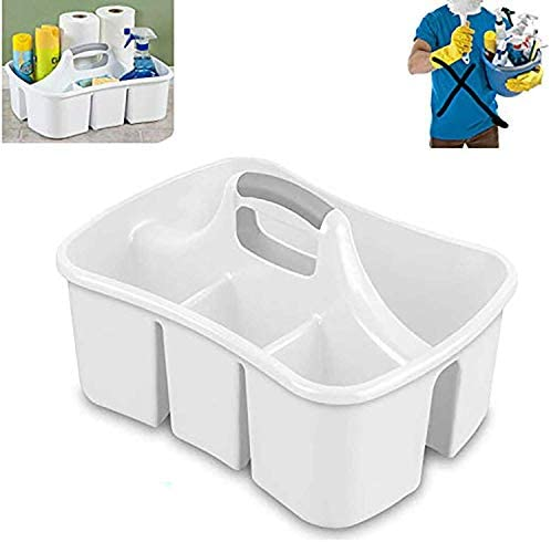 Compartment Organizer Janitors Cleaning Container