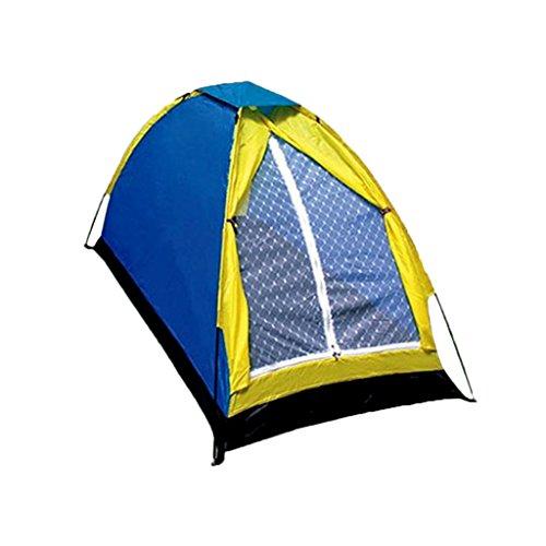 コンテンポラリー分類するネックレットOXU 男性用 ガラス繊維 一居室 シングルアカウント 私たちは、構築する必要があります ポリエステル生地 単一 太陽 キャンプのテント