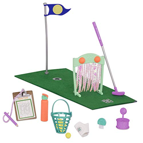 (Glitter Girls by Battat - Scores That Shine - Mini Golf Set for 14-inch Dolls - Toys, Clothes and Accessories for Girls 3-Year-Old and Up)